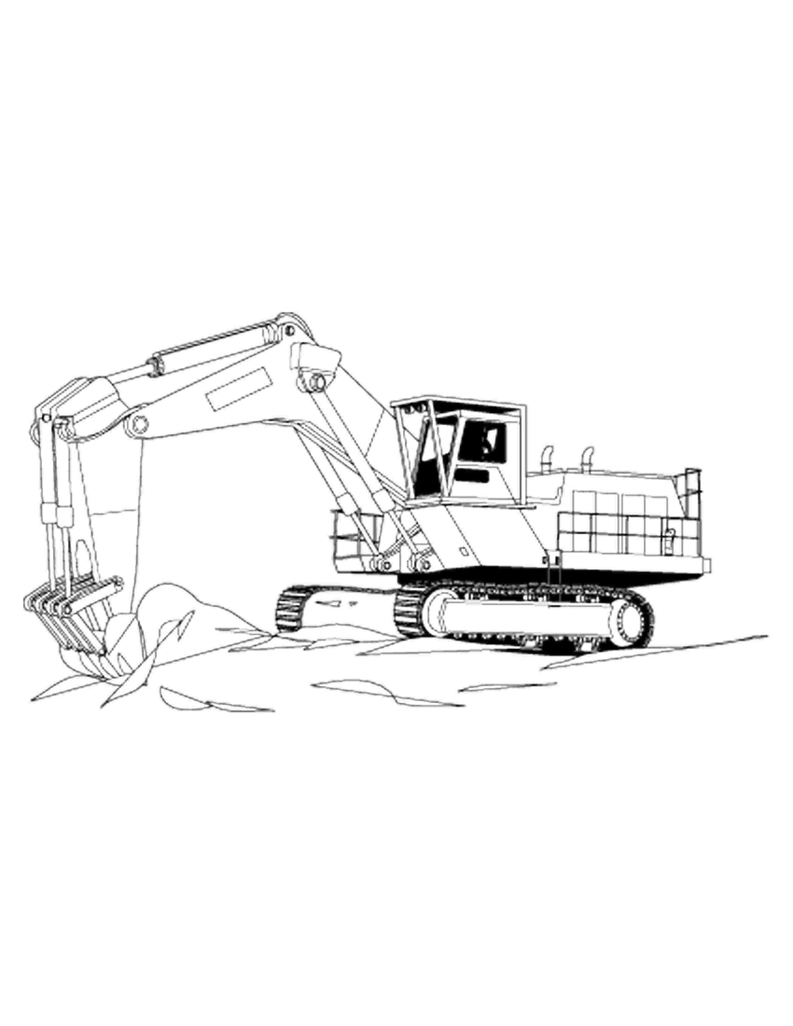 construction equipment coloring pages construction equipment drawing at getdrawings free download pages coloring equipment construction