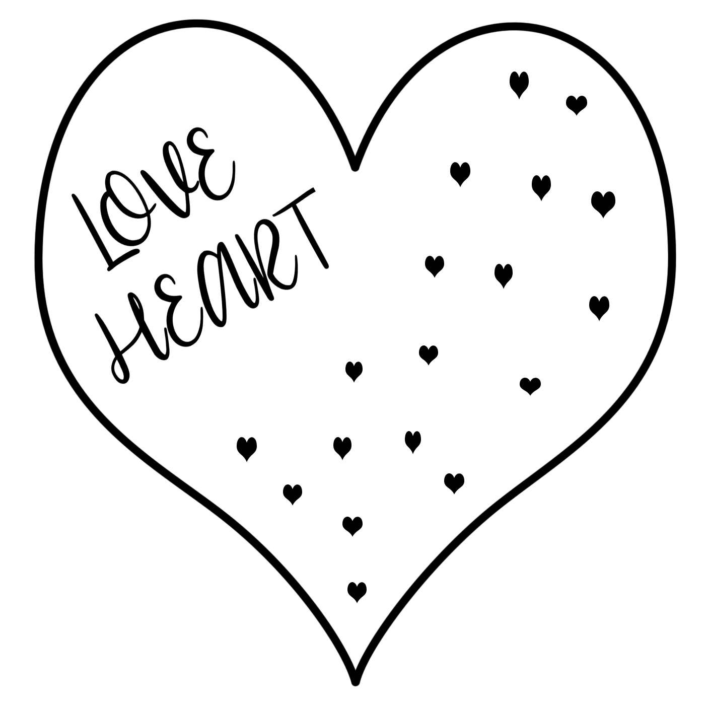 cool heart coloring pages friendship day special love heart drawing love heart cool pages heart coloring