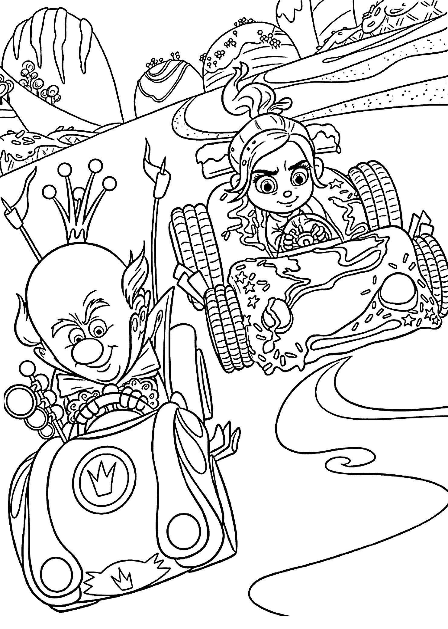 cool kids coloring pages vanellope coloring pages at getcoloringscom free pages coloring cool kids