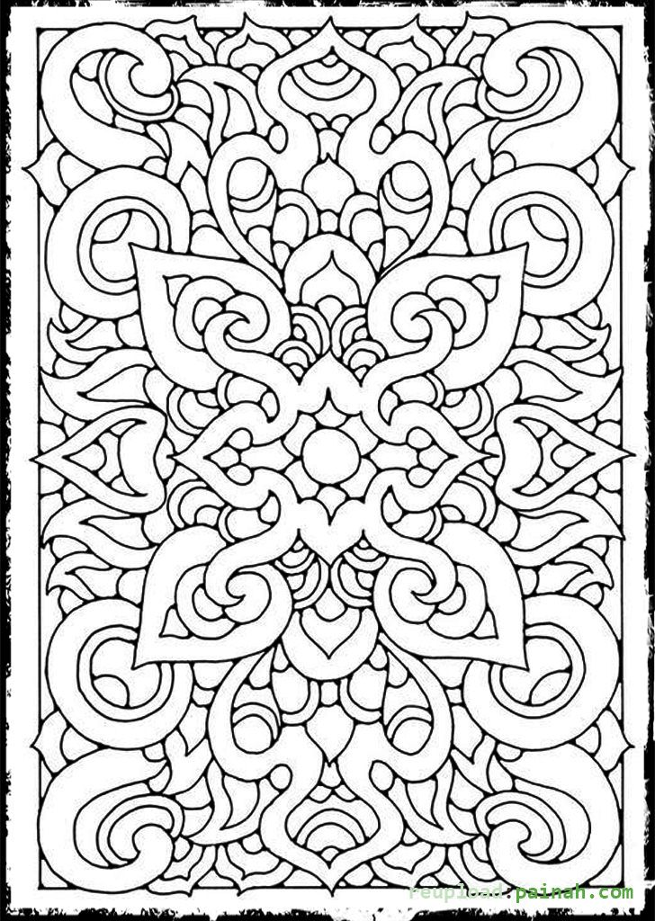 cool printable coloring pages for adults cool geometric design coloring pages coloring home printable for adults coloring cool pages