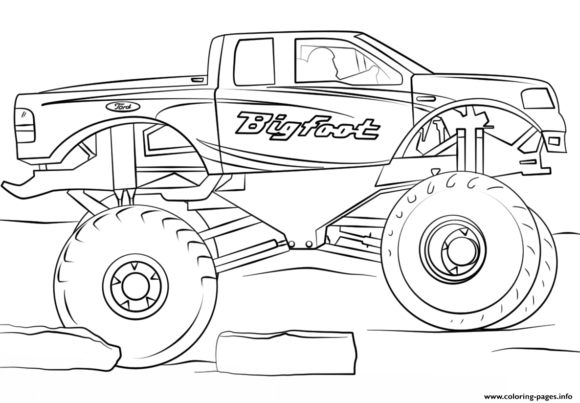 cool truck coloring pages pickup truck coloring pages printable at getcoloringscom coloring truck cool pages