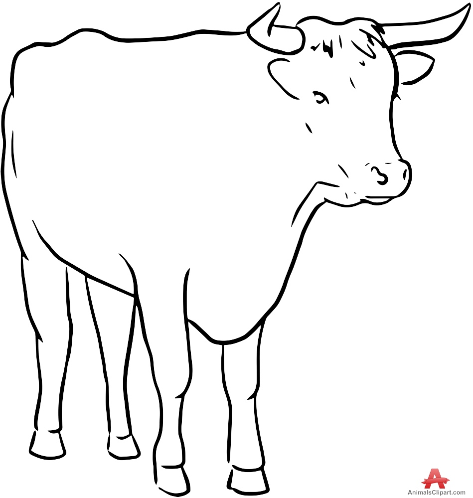 cow outline cow with calf clipart 20 free cliparts download images outline cow