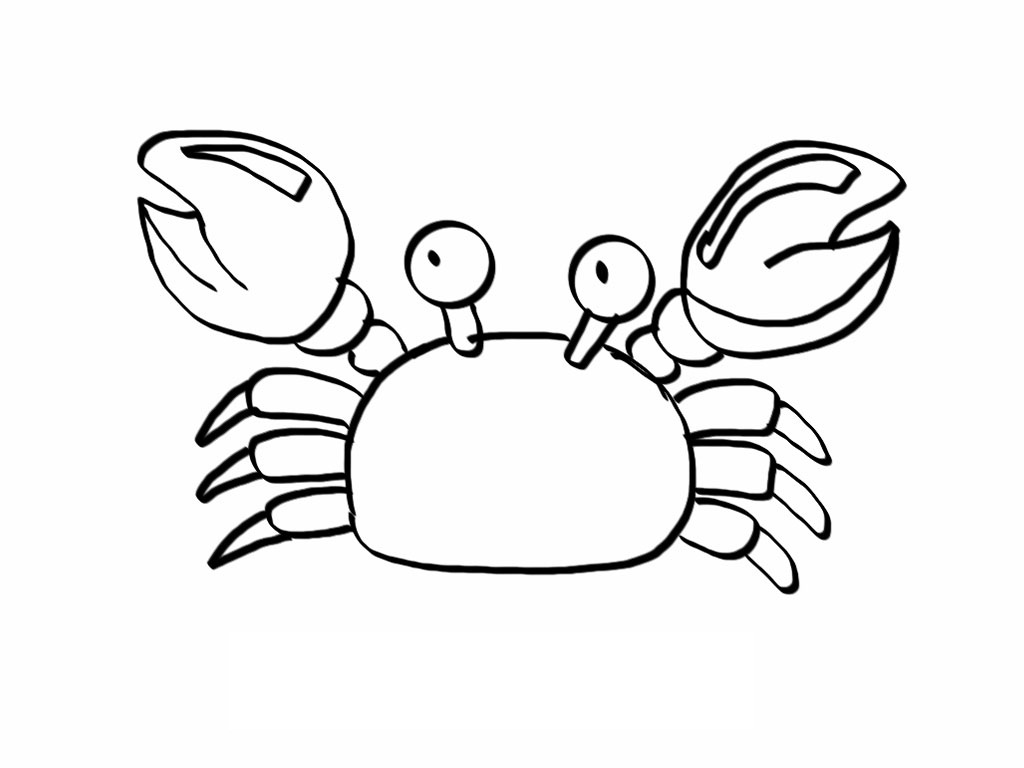 crab coloring sheet free printable crab coloring pages for kids animal place crab coloring sheet