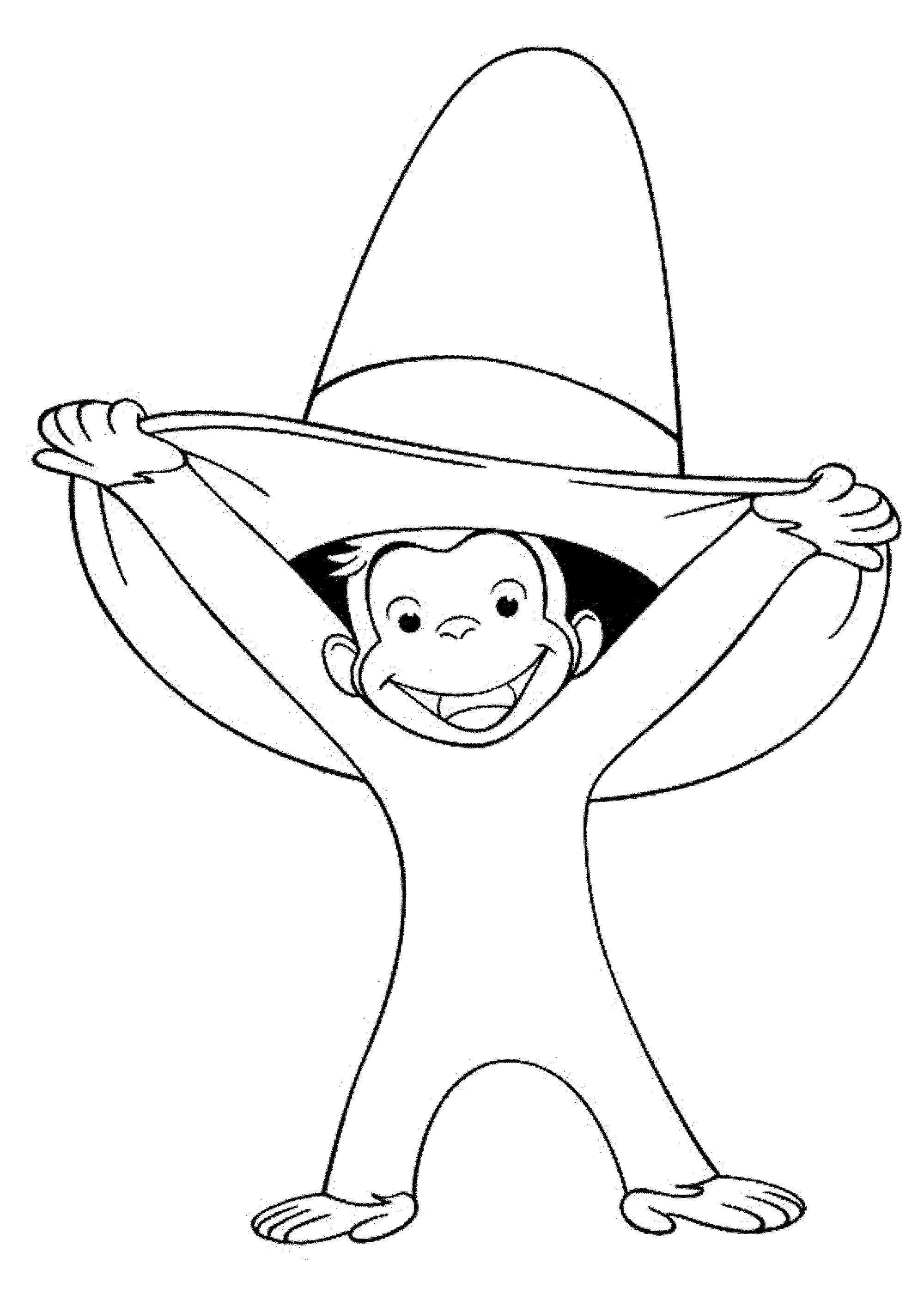 curious george coloring coloring pages for everyone curious george george coloring curious