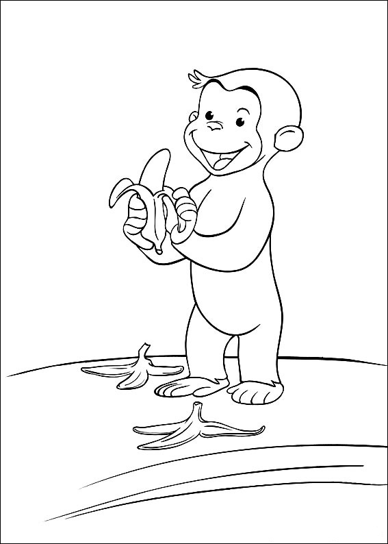 curious george coloring curious george and panda coloring page kids pbs kids george curious coloring