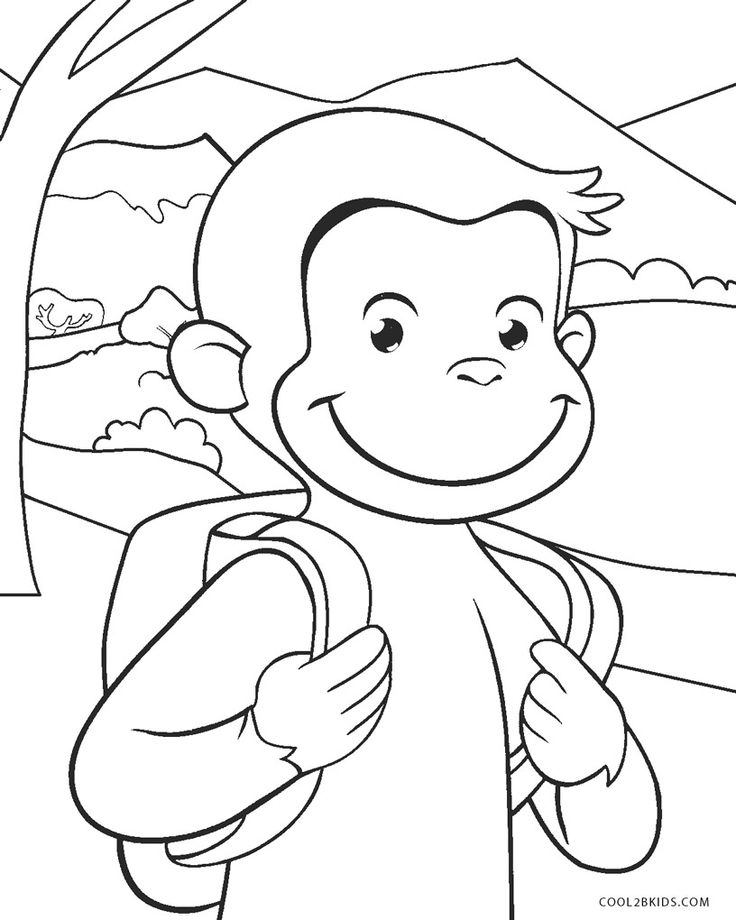 curious george coloring curious george coloring pages to download and print for free coloring curious george