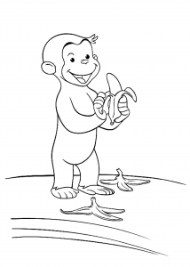curious george coloring free kids coloring curious george george curious coloring
