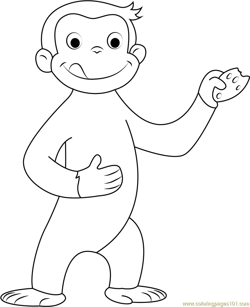 curious george coloring print download curious george coloring pages to curious coloring george