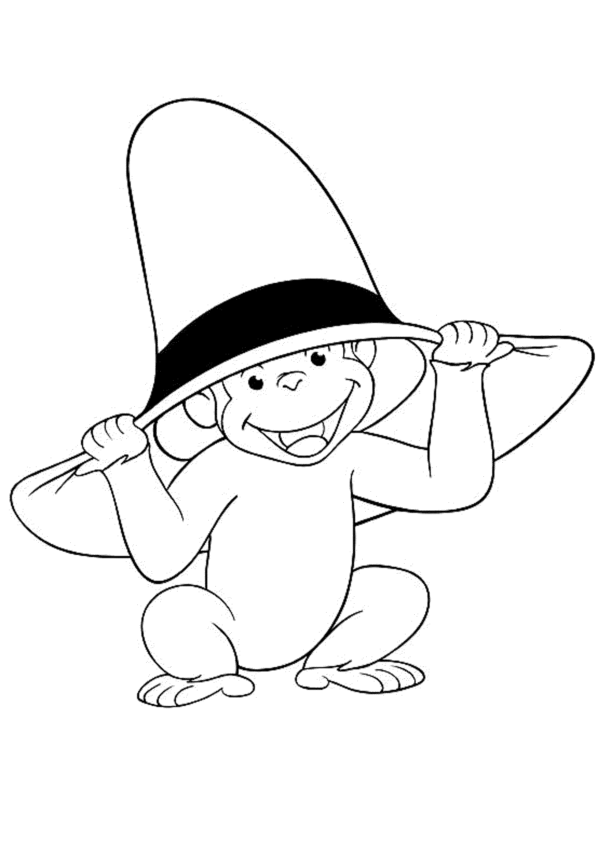 curious george coloring print download curious george coloring pages to george coloring curious