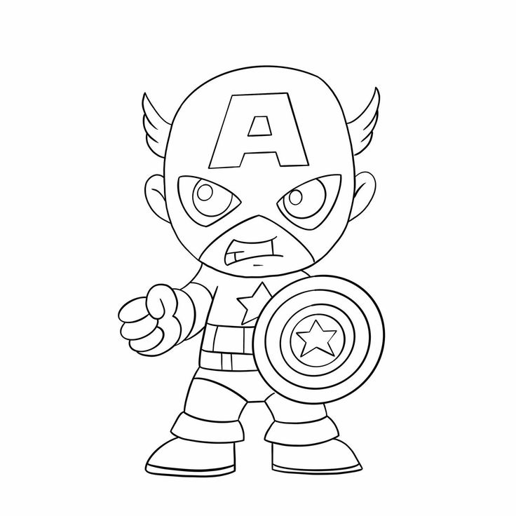 cute avengers coloring pages avengers coloring pages to download and print for free avengers cute coloring pages