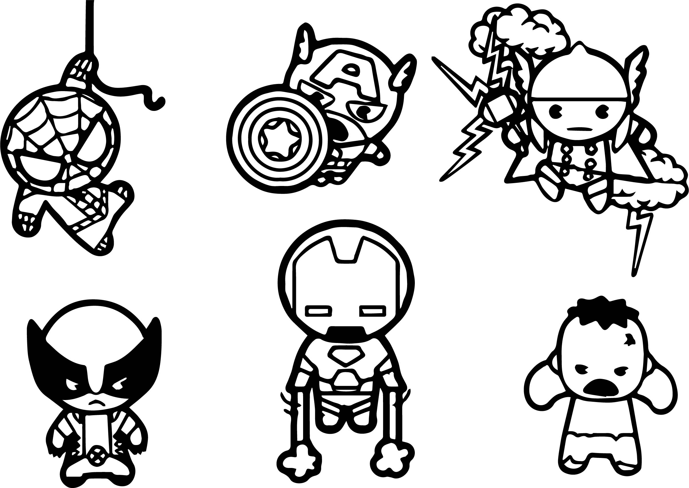 cute avengers coloring pages how to draw raccoon chibi avengers drawings avengers cute avengers pages coloring
