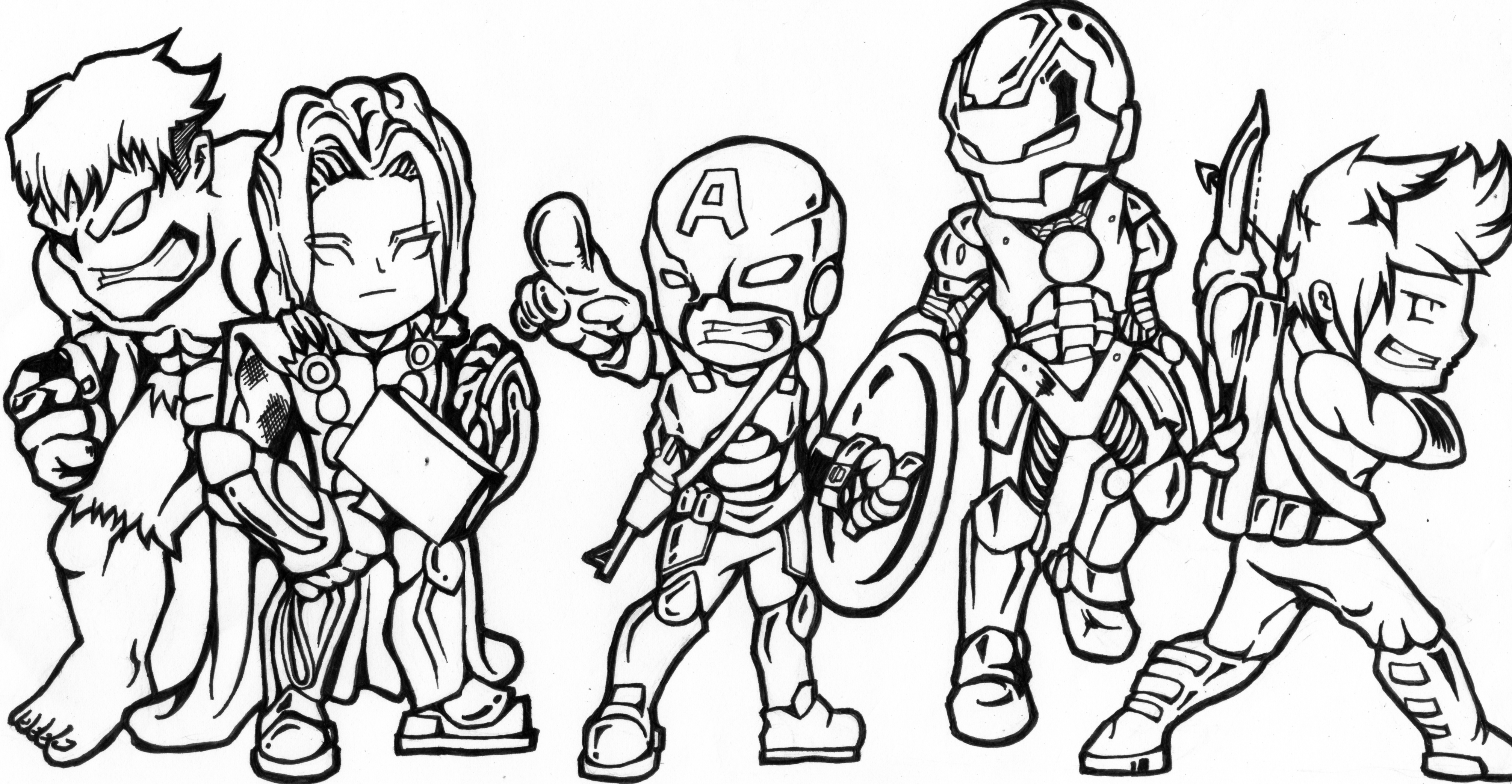 cute avengers coloring pages movie printable coloring pages for kids avengers coloring cute pages