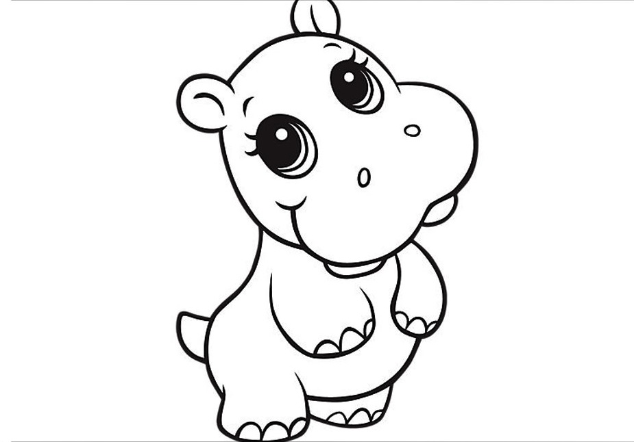 cute coloring pages of animals cute animal coloring pages printable at getdrawings free cute animals of pages coloring