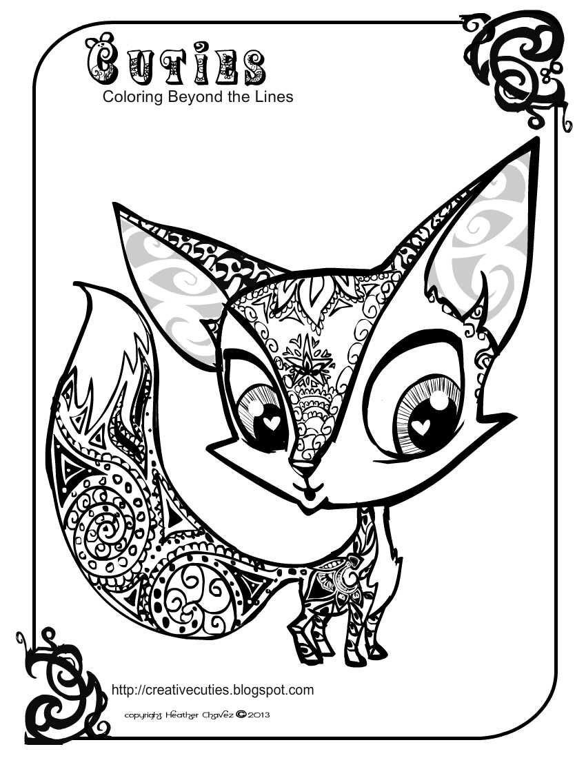 cute coloring pages of animals cute jungle animals coloring page pages animals of coloring cute