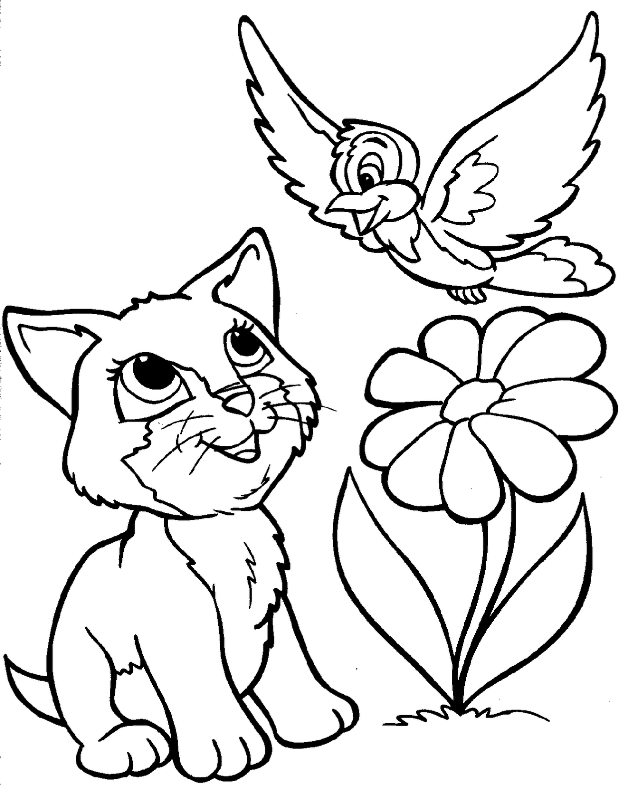 cute coloring pages of animals cute kawaii coloring pages at getcoloringscom free animals of coloring pages cute