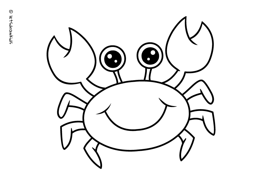 cute crab coloring pages jellyfish coloring page free download on clipartmag pages coloring cute crab