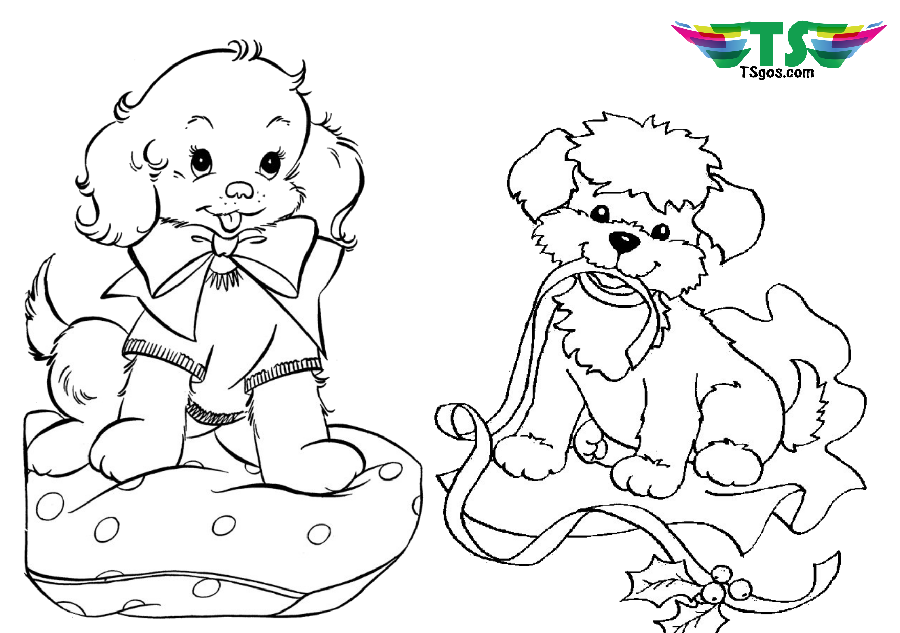 cute dogs coloring pages cute puppy small doggie coloring page for children cute pages dogs coloring