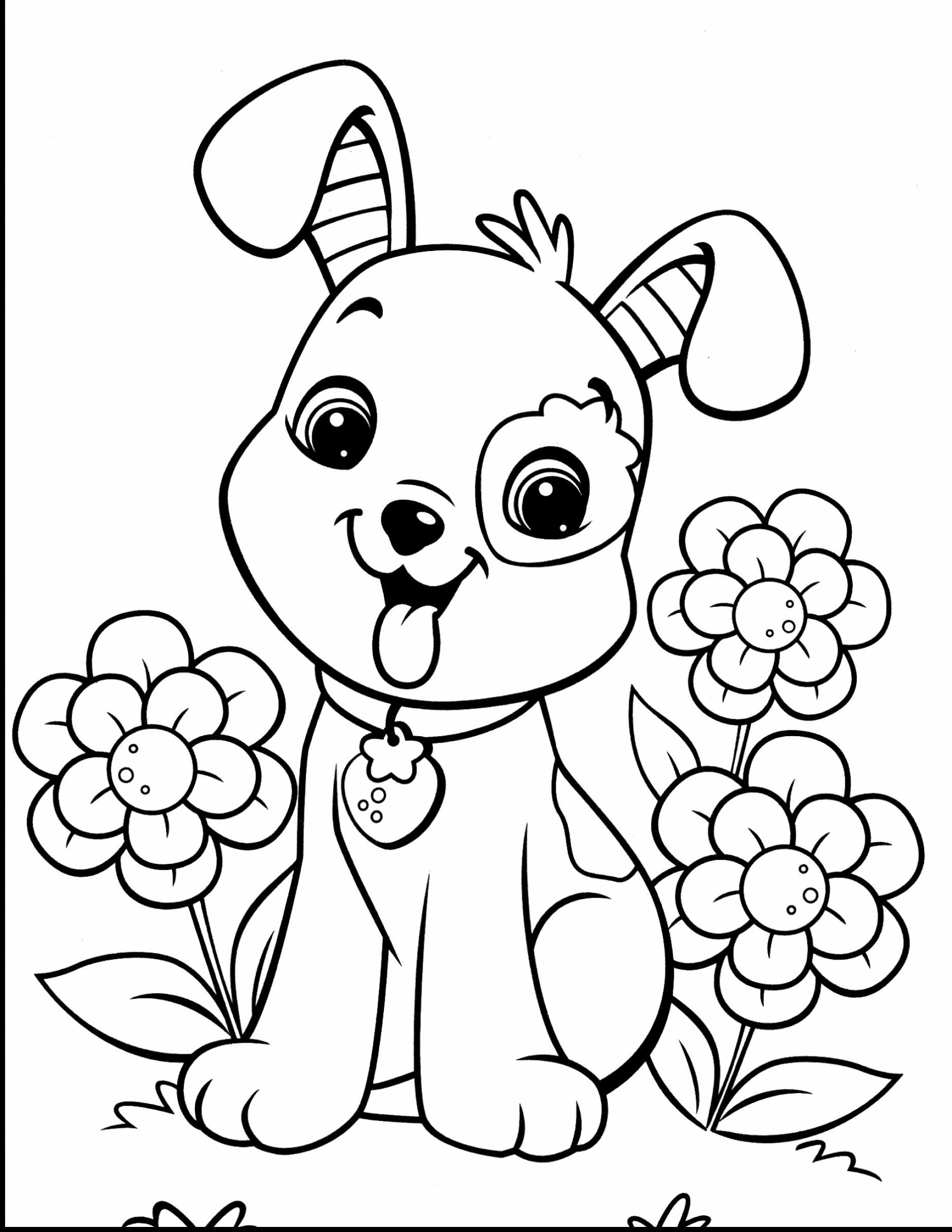 cute dogs coloring pages dog coloring pages adults at getdrawings free download dogs coloring pages cute