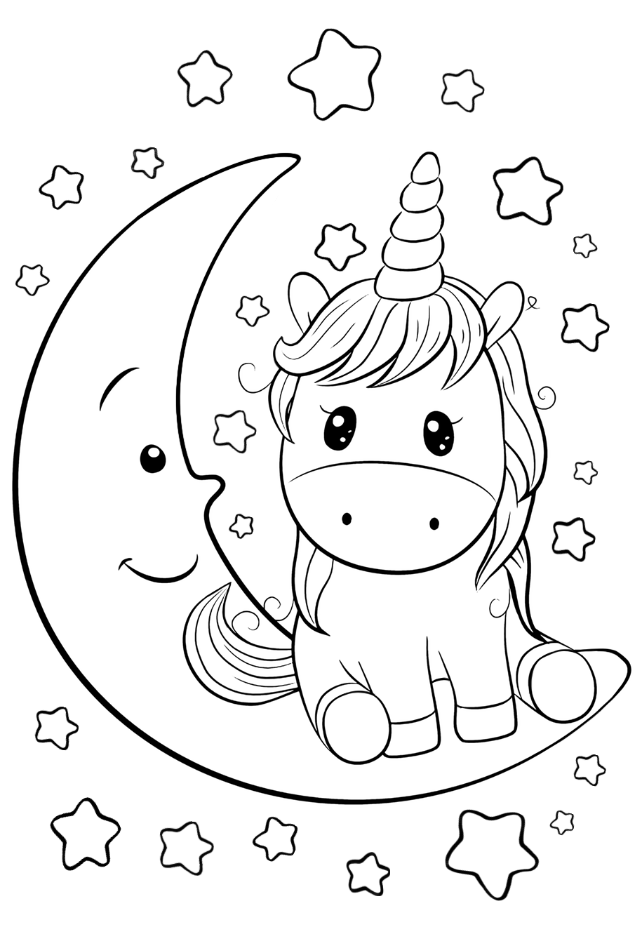 cute easy unicorn coloring pages 25 cute cartoon unicorn coloring pages unicorn coloring coloring easy pages unicorn cute