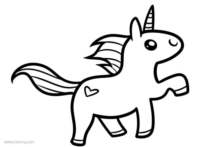 cute easy unicorn coloring pages 30 best free printable unicorn coloring pages online easy unicorn cute pages coloring