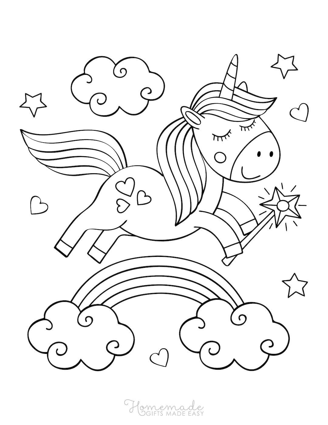 cute easy unicorn coloring pages cute baby animals coloring pages coloring home coloring pages unicorn easy cute