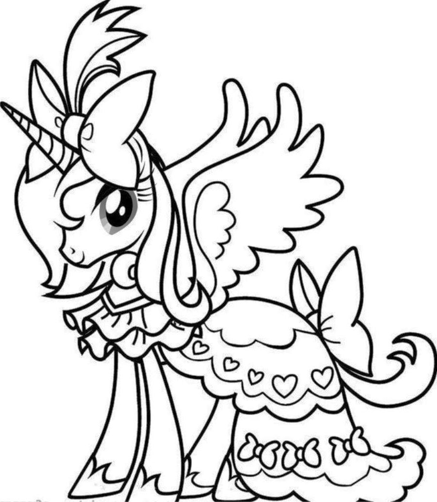 cute easy unicorn coloring pages cute unicorn drawing at getdrawings free download unicorn coloring easy cute pages