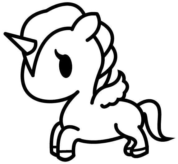 cute easy unicorn coloring pages mermaid unicorn free colouring pages unicorn coloring cute pages easy