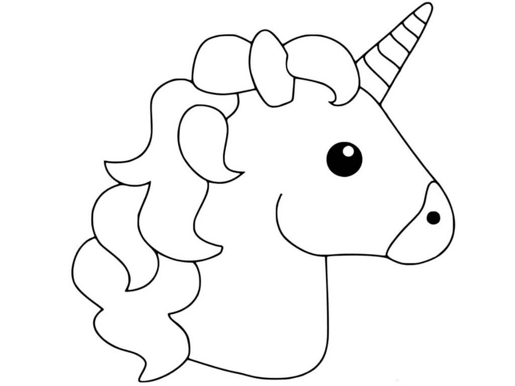 cute easy unicorn coloring pages print download unicorn coloring pages for children easy unicorn pages coloring cute