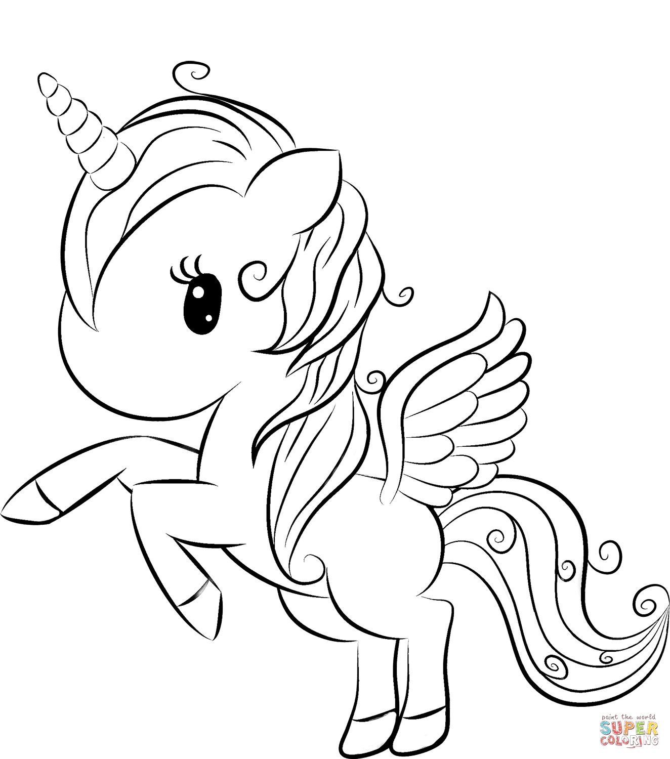 cute easy unicorn coloring pages unicorn coloring pages to download and print for free coloring unicorn easy cute pages