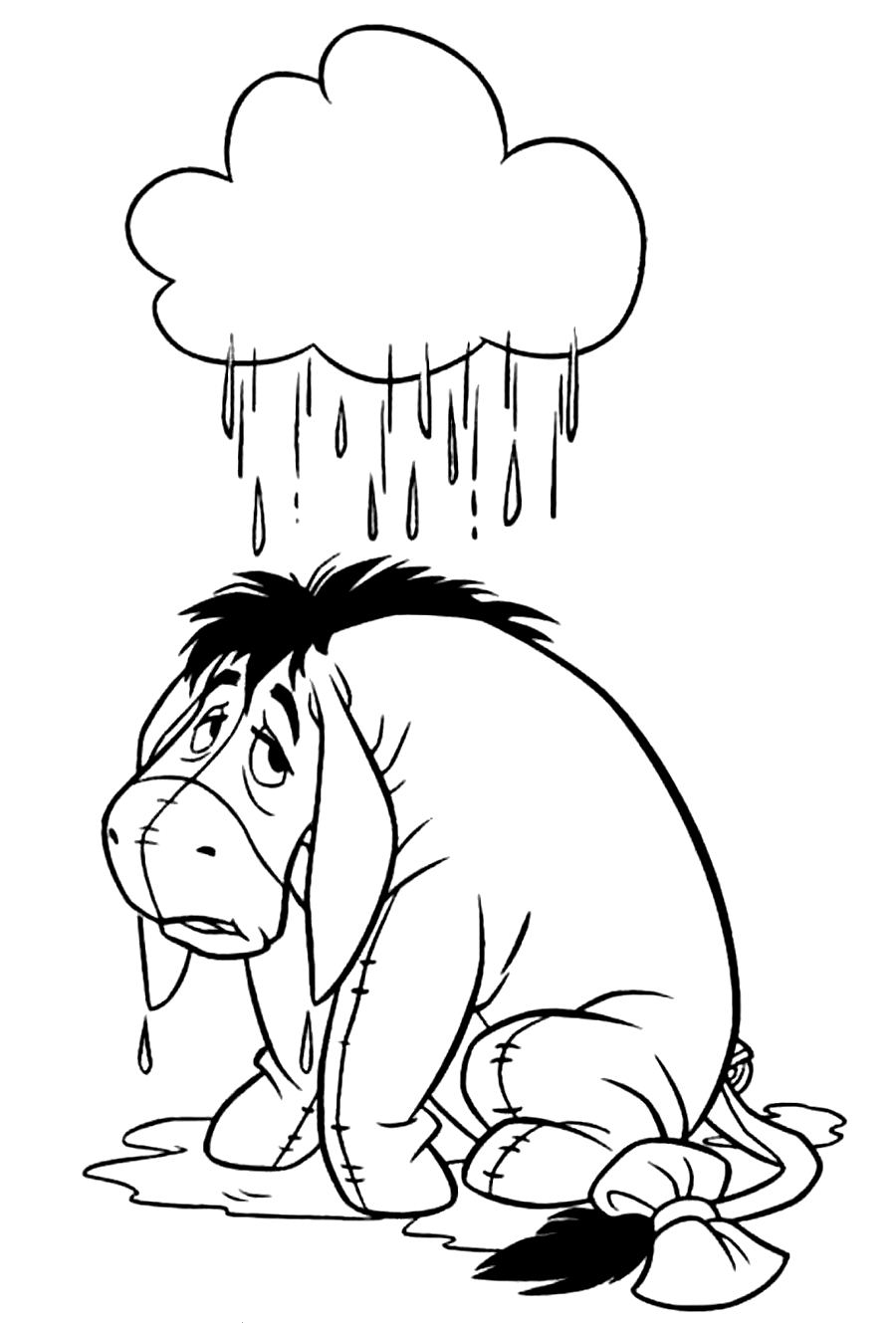 cute eeyore coloring pages 35 best eeyore images on pinterest cute eeyore pages coloring