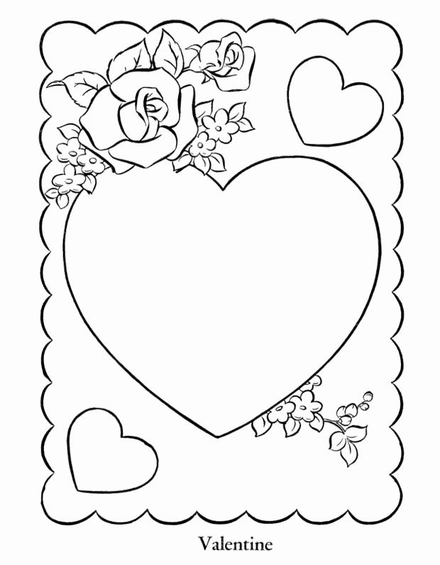 cute heart coloring pages cute heart coloring pages in 2020 valentines day pages heart cute coloring