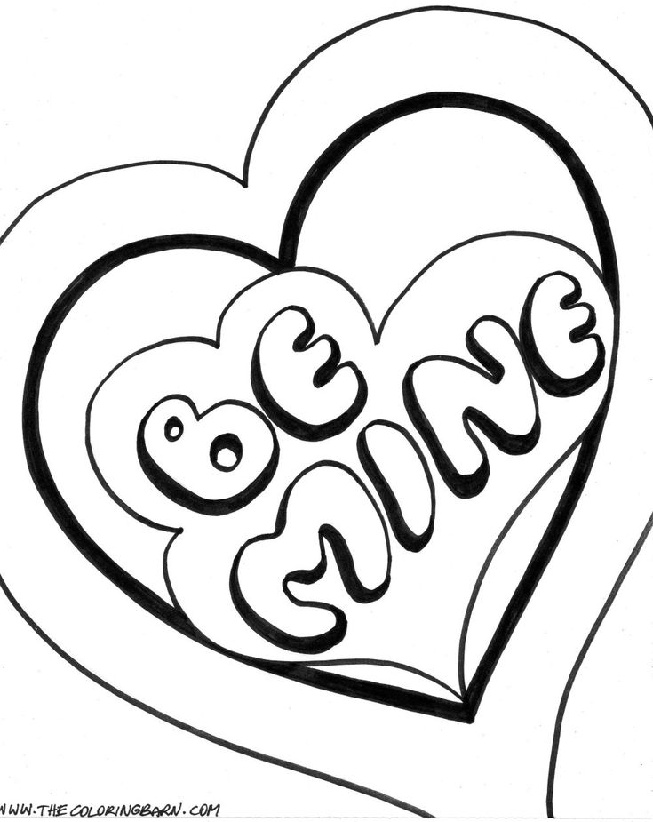 cute heart coloring pages cute love coloring pages getcoloringpagescom cute heart coloring pages