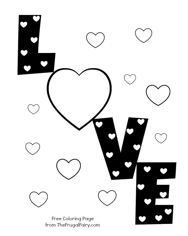 cute heart coloring pages easy heart coloring pages for kids stripe patterns pages cute heart coloring