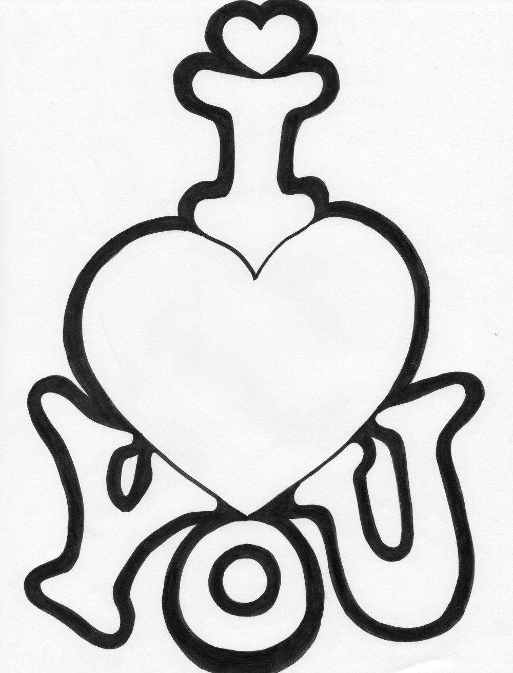 cute heart coloring pages quoti love you quot coloring pages coloring cute heart pages