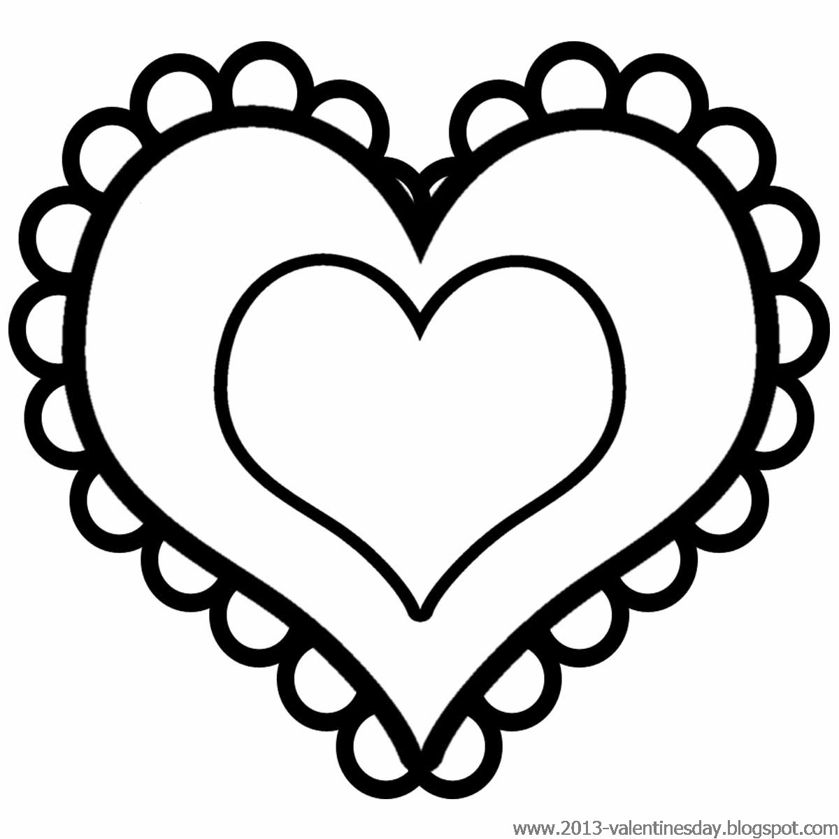 cute heart coloring pages valentines day clip art images and pictures valentine39s day cute coloring heart pages
