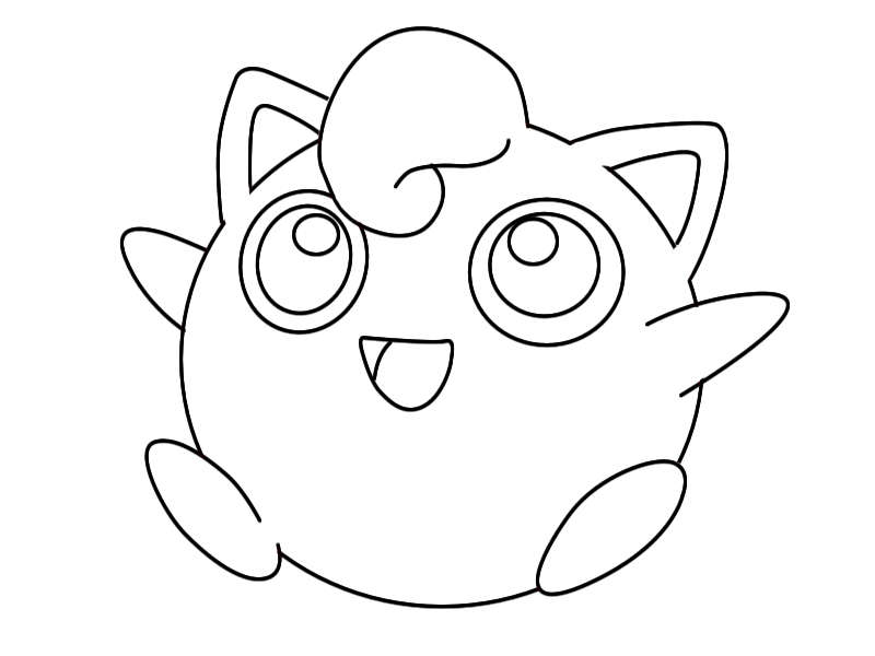 cute jigglypuff coloring pages amazing pokemon jigglypuff coloring page download jigglypuff coloring cute pages