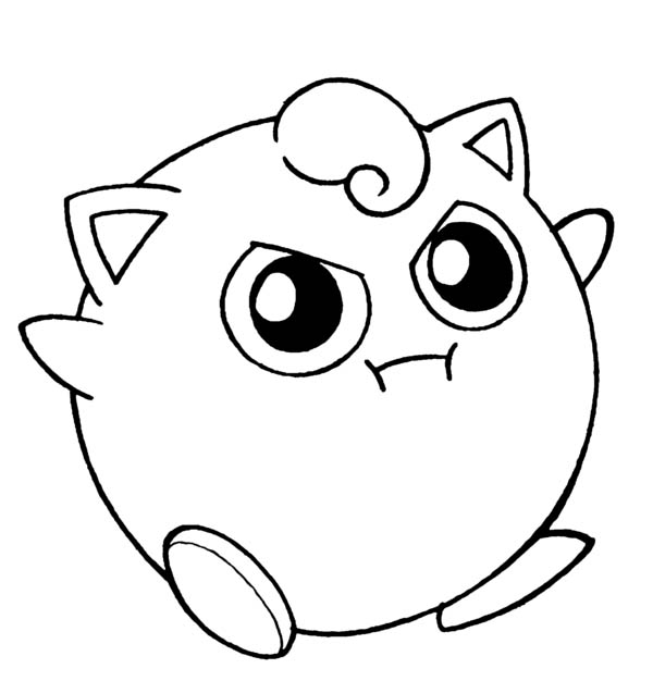 cute jigglypuff coloring pages cute pokemon jigglypuff coloring page download print cute jigglypuff pages coloring