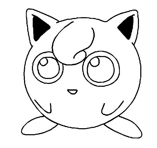 cute jigglypuff coloring pages jigglypuff is singing coloring page download print jigglypuff cute pages coloring