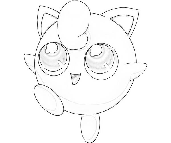 cute jigglypuff coloring pages jigglypuff is very happy coloring page download print pages coloring jigglypuff cute