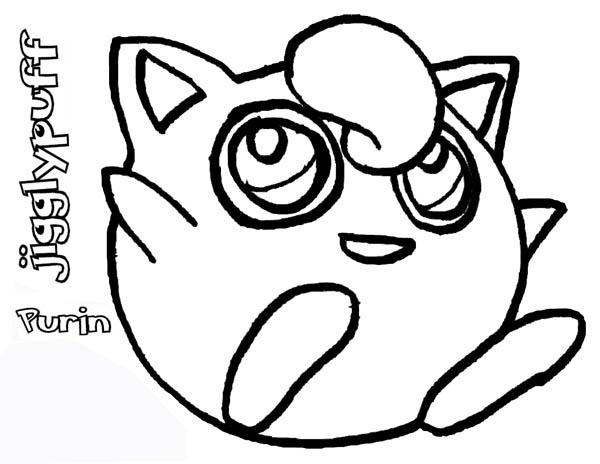 cute jigglypuff coloring pages jigglypuff with images pokemon coloring pokemon jigglypuff pages cute coloring