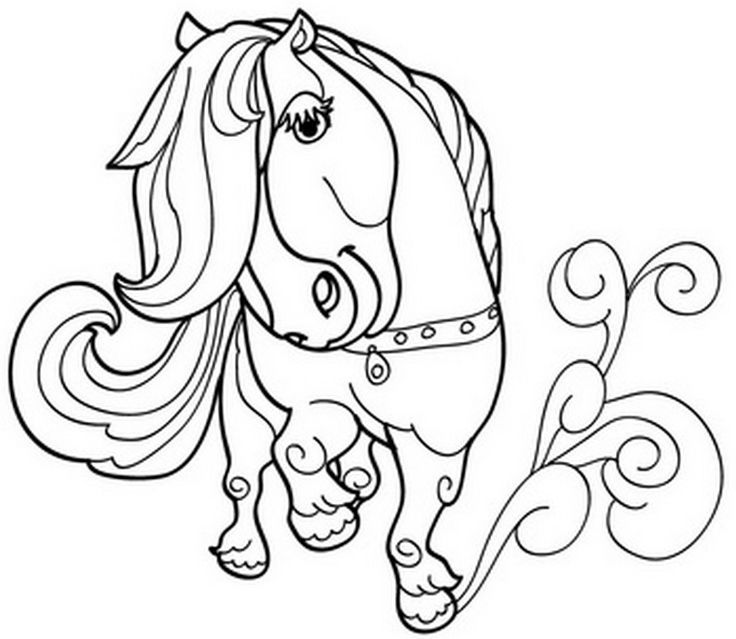 cute kawaii horse coloring pages kawaii coloring pages drawing for kids free online pages kawaii cute horse coloring