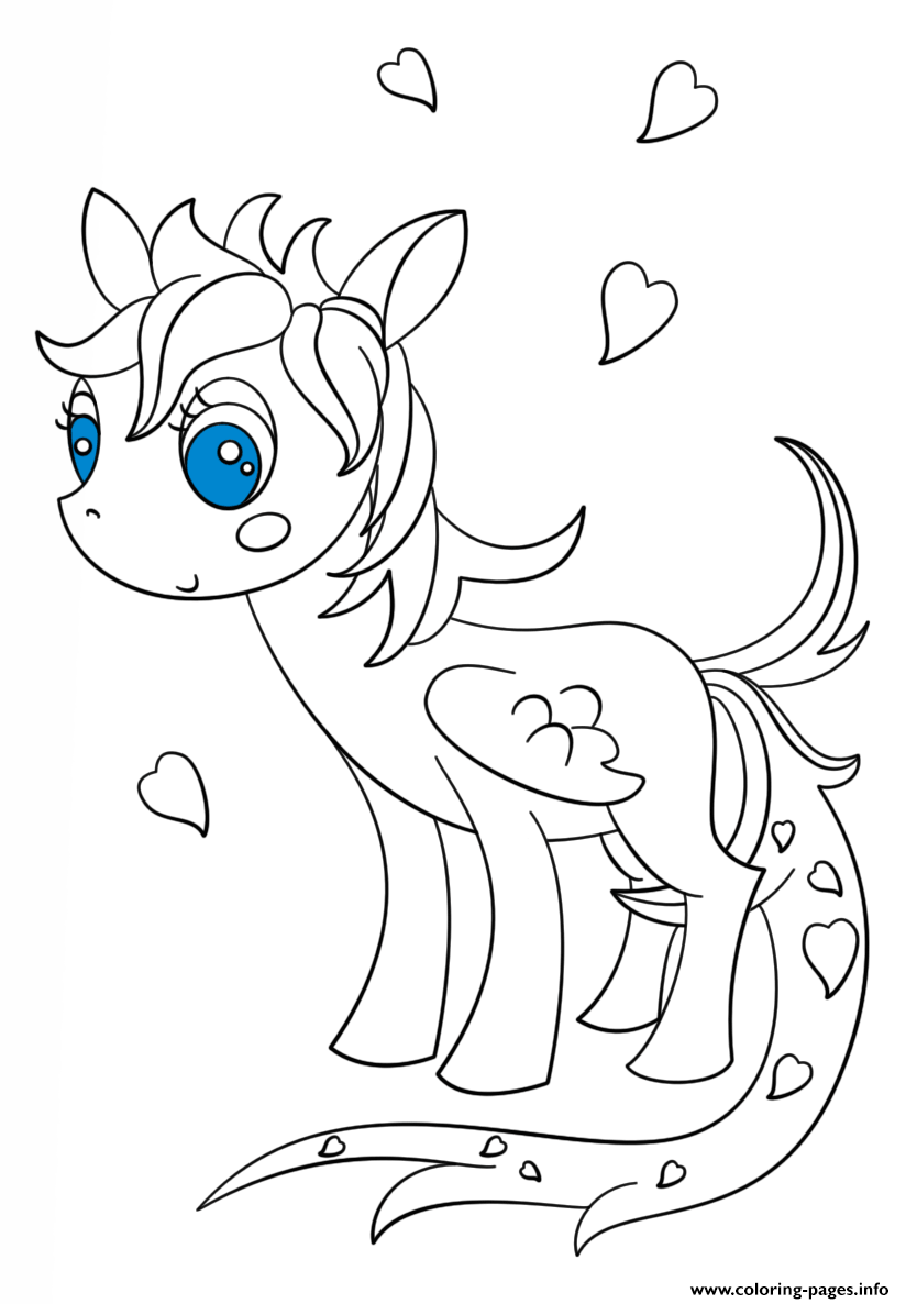 cute kawaii horse coloring pages my little pony bany pony coloring pages dessin licorne pages horse coloring cute kawaii