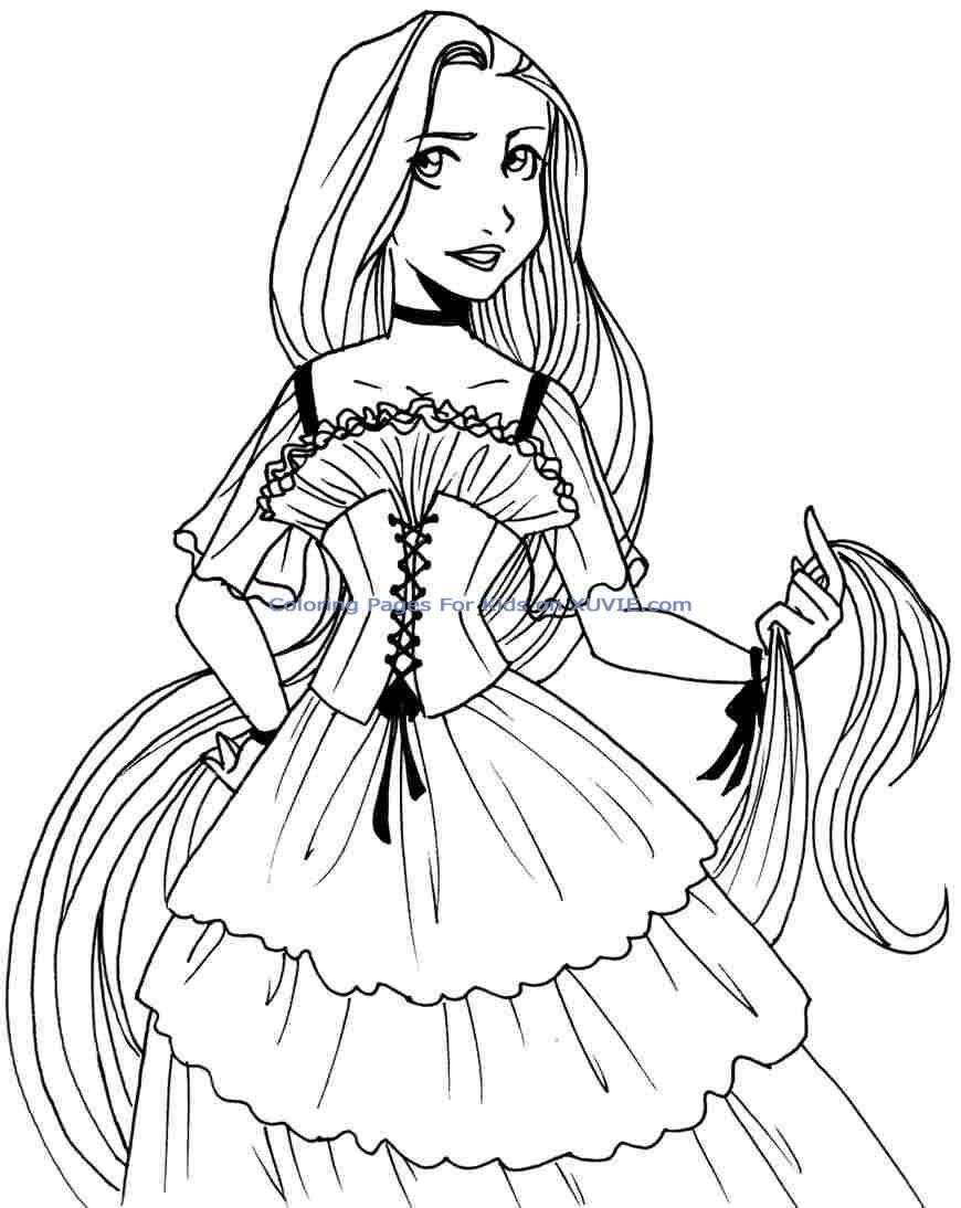 cute princess coloring pages cute princess coloring pages at getdrawings free download pages coloring princess cute