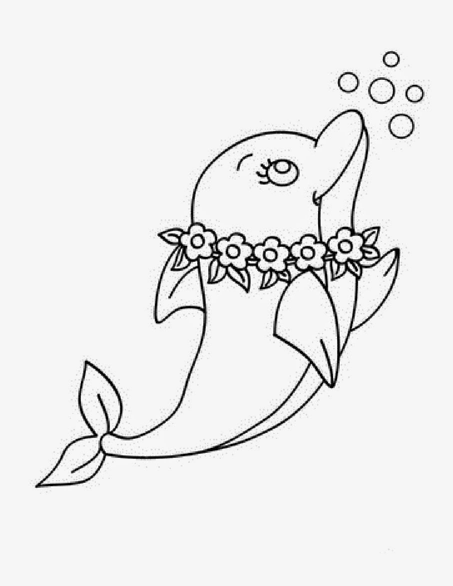cute printable dolphin coloring pages cute dolphin coloring page free printable coloring pages dolphin coloring cute pages printable