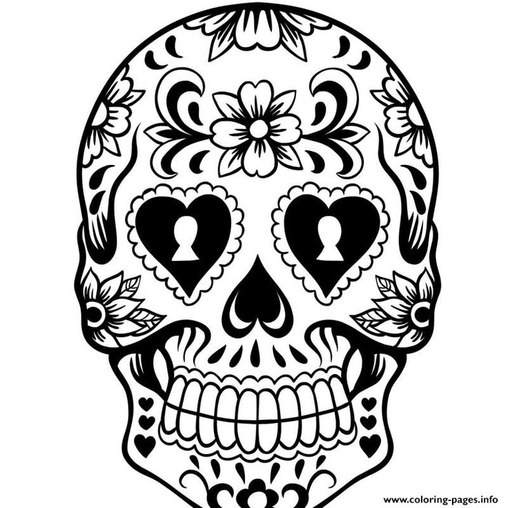 cute sugar skull coloring pages 15 best images about sugar skull coloring pages on pinterest skull cute pages sugar coloring