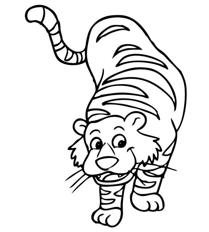 cute tiger face coloring pages coloring pages of cute baby tigers google search cute pages face coloring tiger