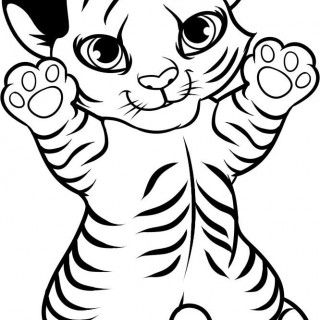 cute tiger face coloring pages tiger coloring pages 15 cute coloring pages coloring face coloring tiger cute pages