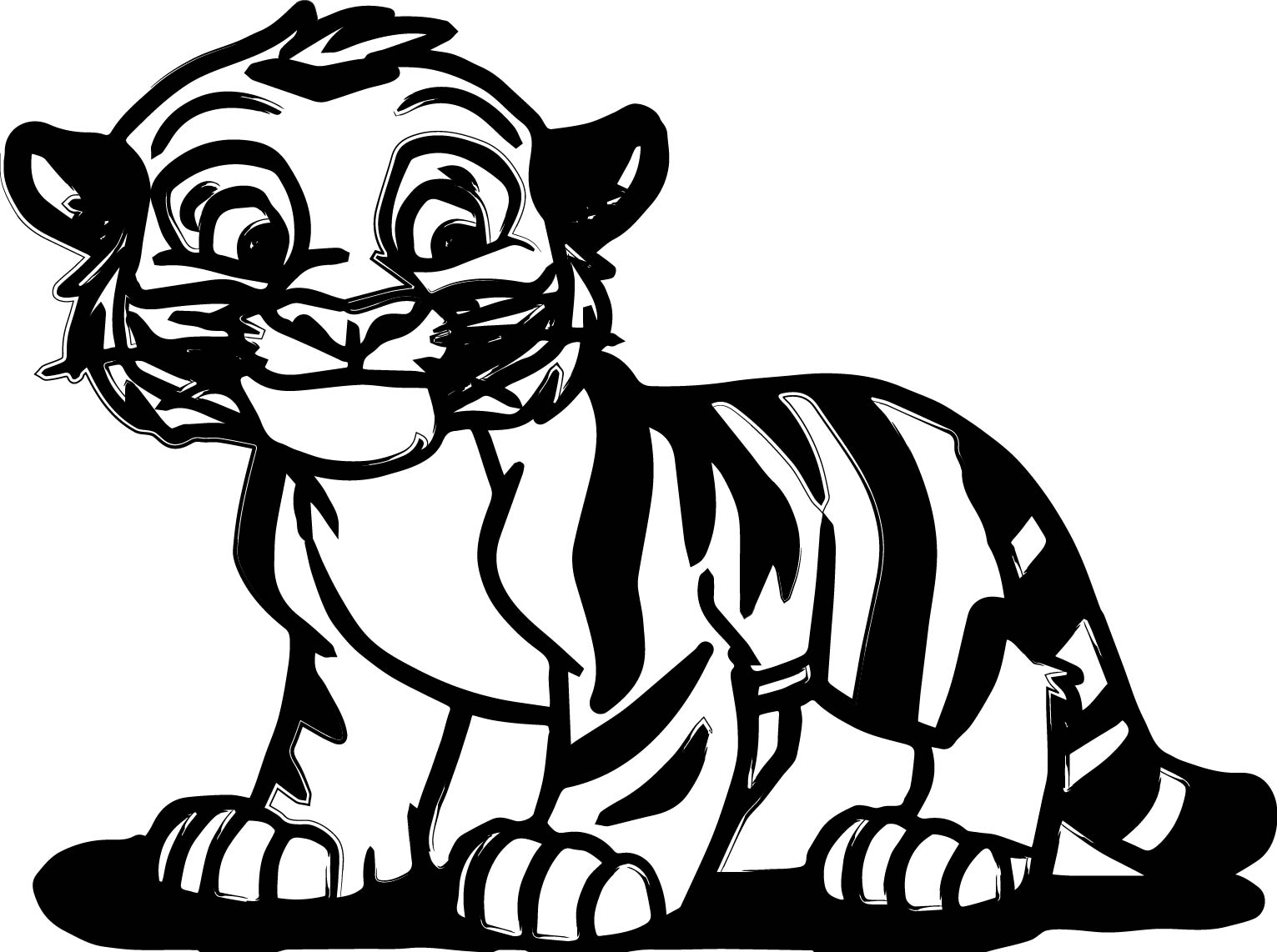 cute tiger face coloring pages tiger face coloring pages getcoloringpagescom cute coloring pages face tiger