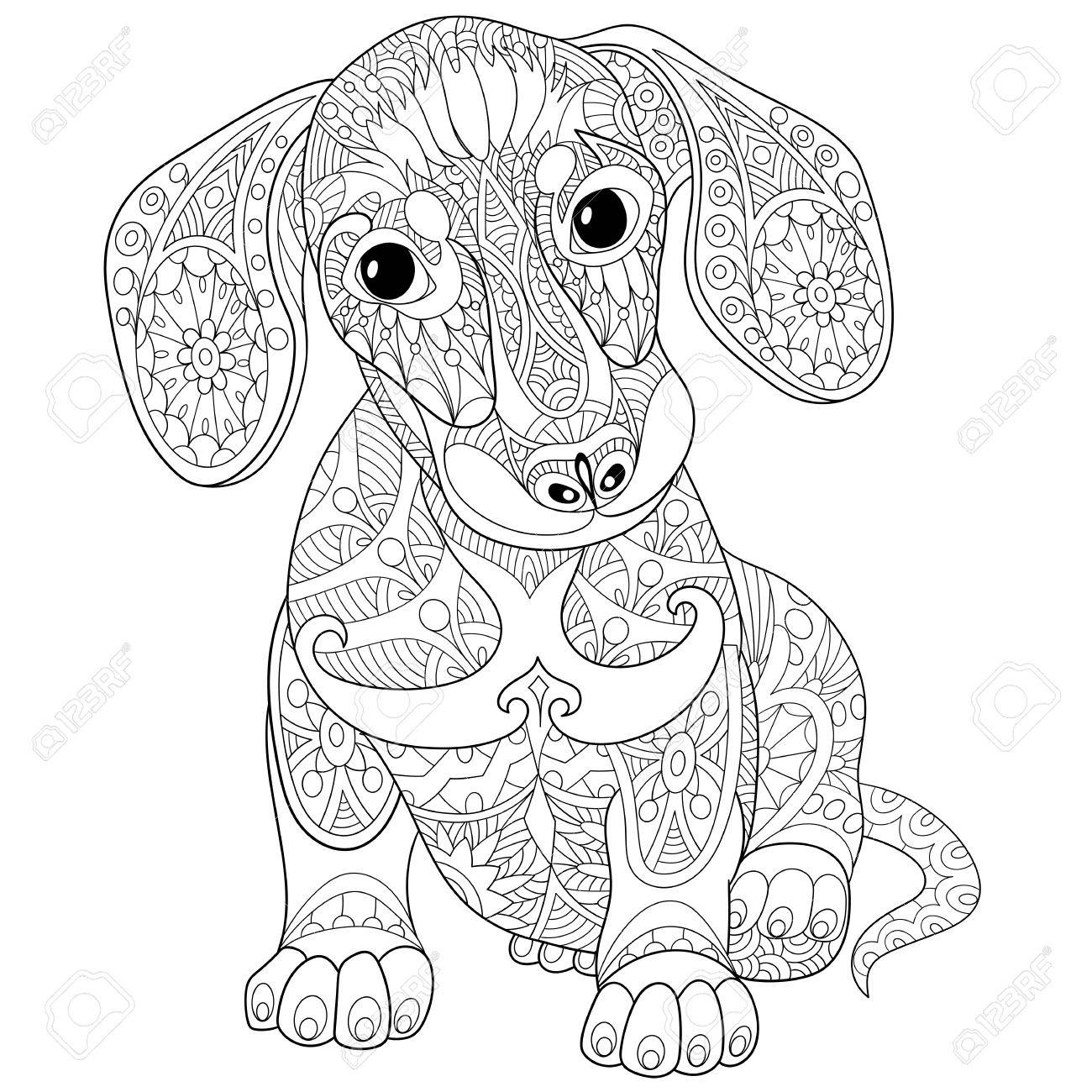 dachshund coloring pictures dachshund coloring book for all ages donkeytimeorg coloring pictures dachshund