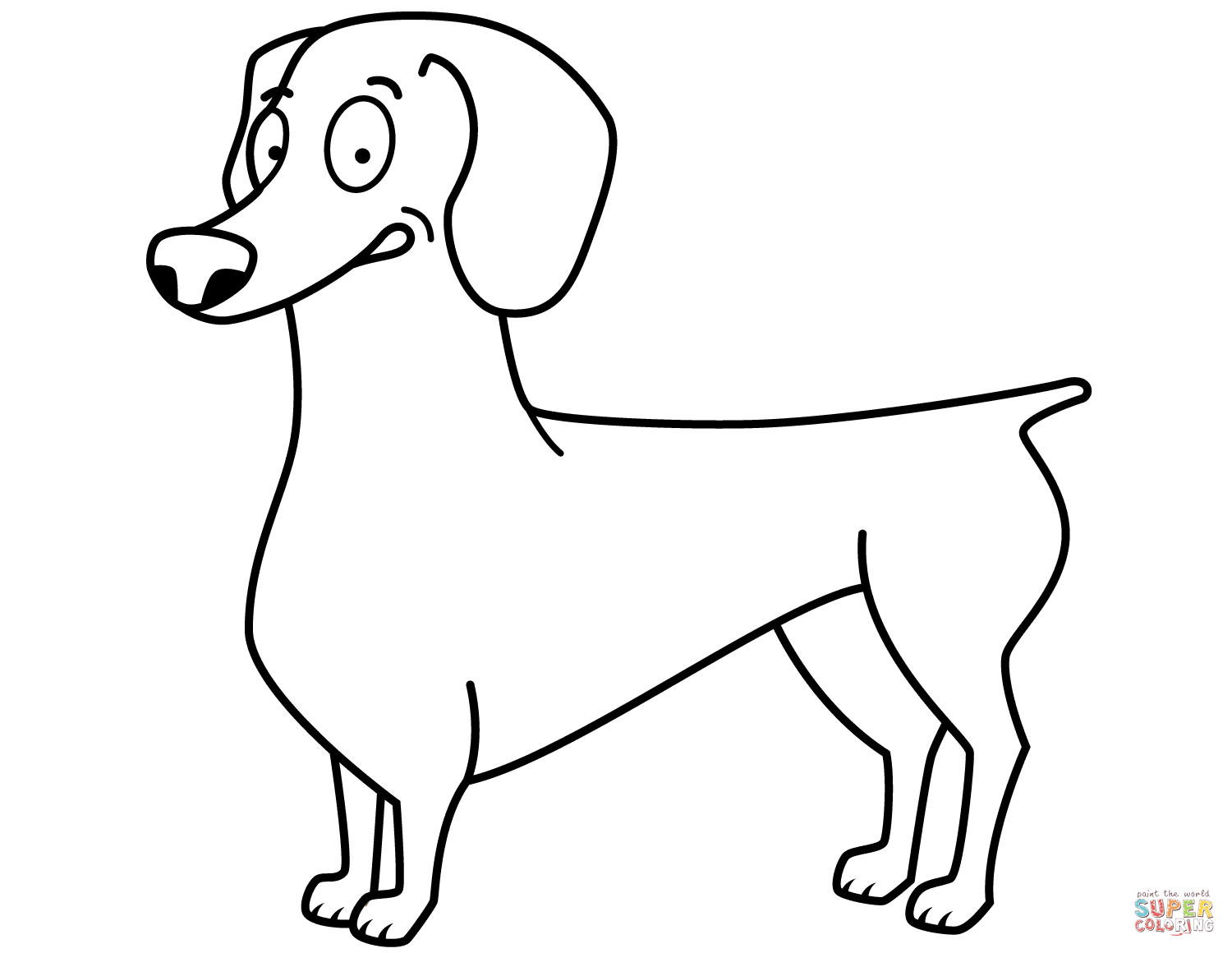 dachshund coloring pictures dachshund coloring pages pictures dachshund coloring